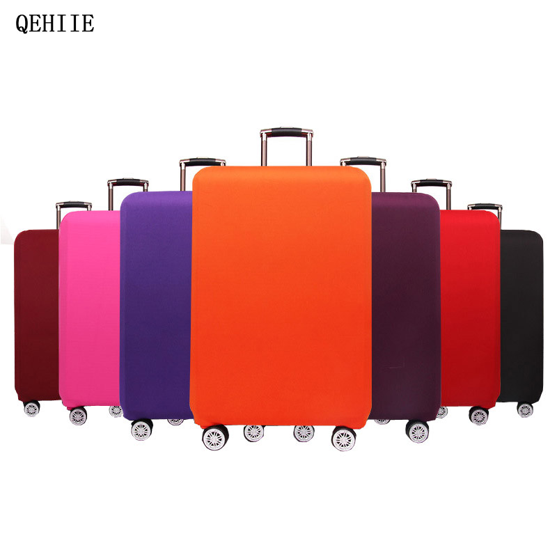 luggage covers protective sleeve candy color elastic thick dust cover applicable to 20 24 26 28