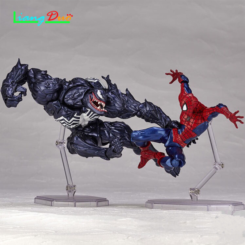 Figur playmobil anime action figure cuadro de venom Spiderman ActionFigure PVC Model plastic hot toys collectibles for children