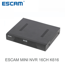 ESCAM K616 NVR HD 1080P 16CH Network Video Recorder H.264 HDMI/VGA Video Output Support Onvif P2P Cloud service