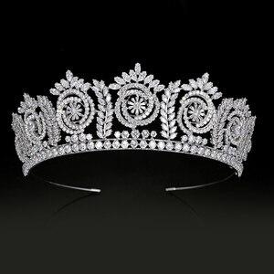 Image 1 - Tiara S En Kronen Mode Elegante Bruids Kronen Voor Vrouwen Huwelijkscadeau Haaraccessoires BC4847 Haar Sieraden Corona Princesa