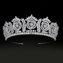 Tiaras y coronas de boda para mujer, accesorios para el cabello, joyería para el cabello, Corona Princesa