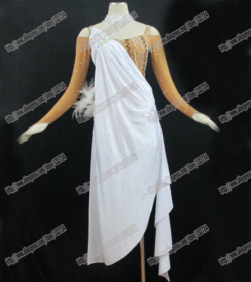 Latin dance dress/Waltz Tango Ballroom Dance Dress,Girls/Women Modern Dance/Perform Costume/Wear LD-0036