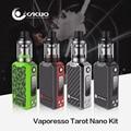 100% Original Vaporesso Tarot Nano Kit 2500 mAh Bateria Interna com 2 ml Tanque EUC VECO Tarot Placa Vaping MOD 80 W OMNI Kit