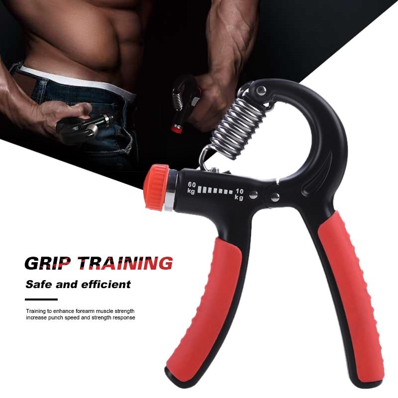 ★  5-60 кг Регулируемая тяжелая рукоятка для фитнеса Рукоятка для упражнений FatGrip Запястье Повышение ✔