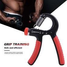 5 60Kg ayarlanabilir ağır tutucu Fitness el egzersiz kavrama FatGrip bilek artırmak gücü bahar parmak tutam karpal genişletici