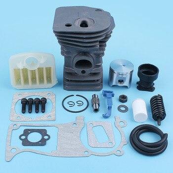 40mm Nikasil Cylinder Piston Air Filter Gasket Kit For Jonsered CS 2141 2145 2150 Chainsaw Bolt Choke Rod Intake Manifold
