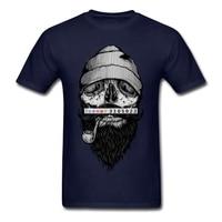 2017 Mens Tee Crazy Man Bone Sailor T Shirt Discount T Shirt Software Versae