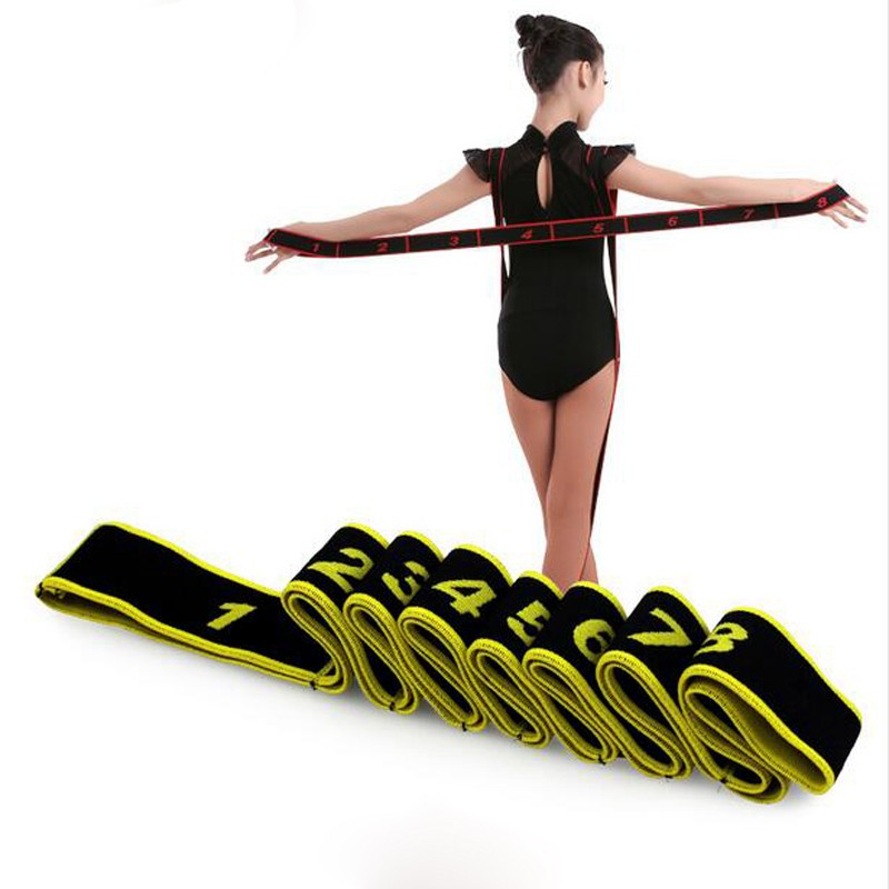 Elastic Band Expander Sport Resistance Bands Pilates Yoga Supplies Home Exercise Belt Workout Rubber Loop For Training