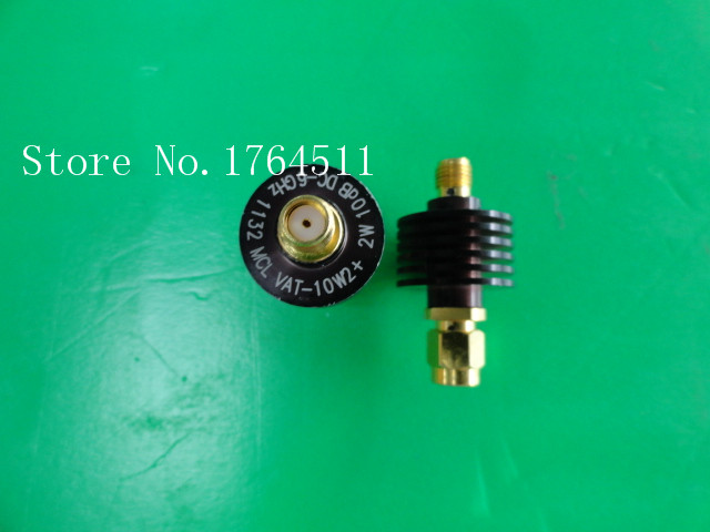 [BELLA] MINI VAT-10W2+ DC-6GHz 10dB 2W SMA Coaxial Fixed Attenuator  --3PCS/LOT