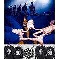 HPEIYPEI KPOP VIXX segundo Álbum Da Moda Coreana ACORRENTADO Hyuk Hong Bin Ken Leo N Ravi Algodão Hoodies Pullovers Moletons PT116