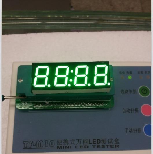 Free Ship Common Cathode 0.56 Inch Digital Tube Clock 4 Bits Digital Tube Led Display 0.56inches Emerald Digital Tube Green