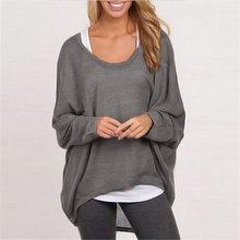 2018 Autumn Women Brand Long Sleeve Shirt Sexy O Neck Sweater Pullovers Knitwear Jumper Pull Femme Tops Shirts