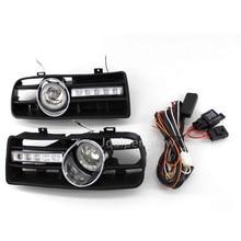 Передний бампер решетка для дневных ходовых огней и противотуманных фар светильник для VW GOLF MK4 1997 1998 1999 2000 2001 2002 2003 2004 2005 2006