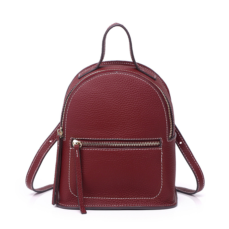 Luxury Real Leather Small Backpack Designer Backpacks Women High Quality Fashion Cute Mini Bagpacks for School Girls MochilaLuxury Real Leather Small Backpack Designer Backpacks Women High Quality Fashion Cute Mini Bagpacks for School Girls Mochila
