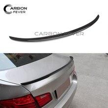 Карбоновый спойлер заднего багажника, крыла для BMW 5 серия F10 F18 520i 523i 528i 530i 535i 550i M5 производительность Спойлеры 11-17 по доступной цене