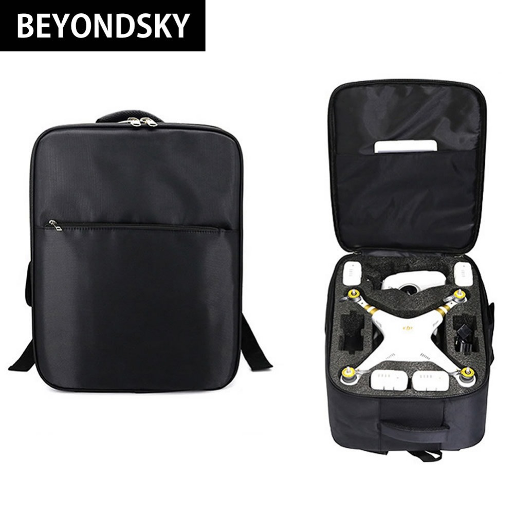 DJI Phantom 4 Pro Backpack Advanced Standard Drone Bag For Phantom 4/3 Series Shoulder Bag Carrying Case Phantom 3 Genuine Case multi fonction drone bag backpack for dji phantom 4 phantom 4 pro plus phantom 3 series xiro drone digital dslr camera bag