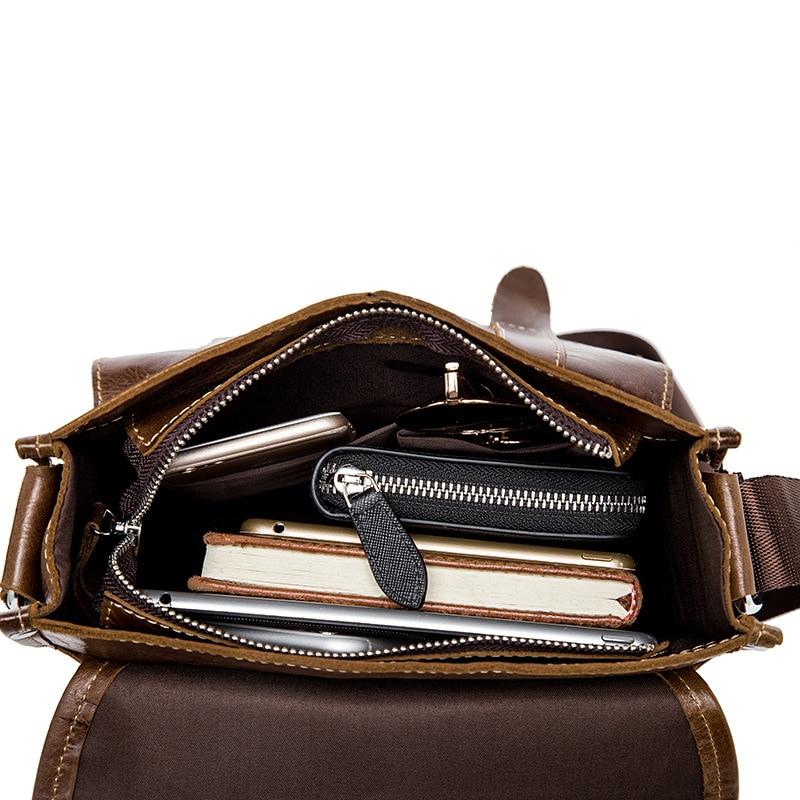famous brand bag men messengerbags men' s men's one-shoulder bag, shoulder bag, casual, baotou, man bag luggage tag 16