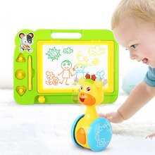Baby Toy Tumbler Early Education Magnetic Drawing Board Children's Toy Set Kids Craft  Toys for Children  Educational Toys цена