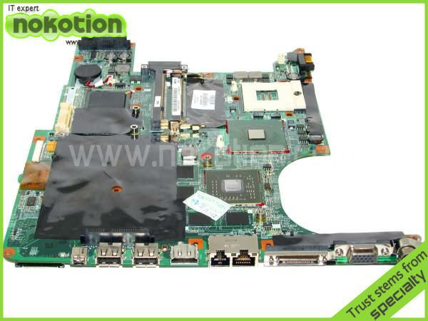 NOKOTION 434659-001 laptop Motherboard for HP DV9000 DDR2 Full Tested Mainboard Mother Boards 45 Days Warranty nokotion 653087 001 laptop motherboard for hp pavilion g6 1000 series core i3 370m hm55 mainboard full tested