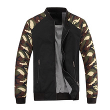 Casual Military Camouflage Jacket For Men