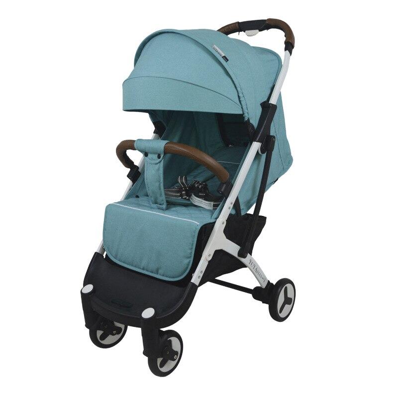 Yoyaplus-3 wózki dziecięce ultra-lekka waga składany może usiąść może leżeć wysokiej krajobrazu parasol wózek dla dziecka lato zima ogólne