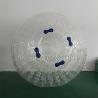 Free Shipping Good Quality Zorb ball inflatable ball Zorbing toys Human hamster ball 2.5M PVC for snow winter Free a Pump