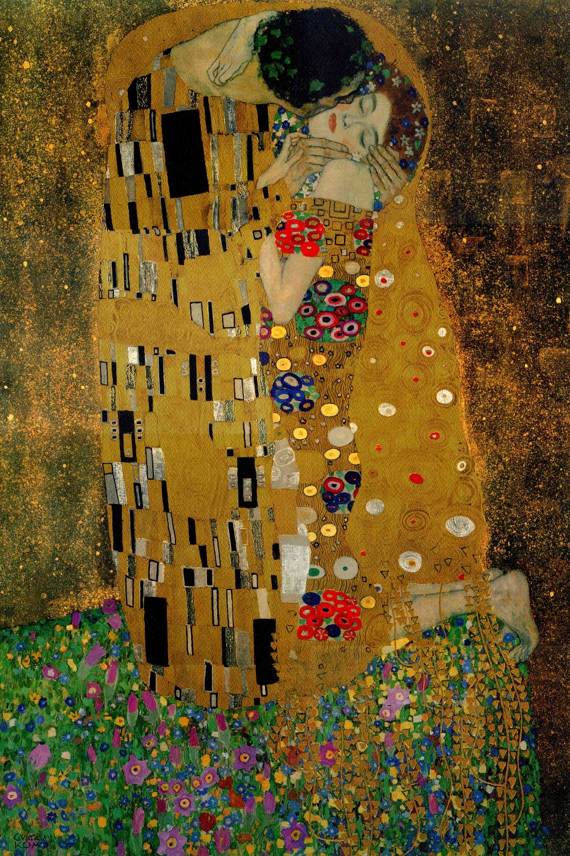 Vintage Cuadros decorativos Gustav Klimt \