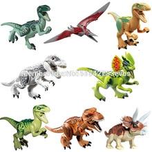 Wholesale Building Blocks Super Heroes Avengers Jurassic World Park Minifigures Jurrassic Park Dinosaur Bricks Mini Figures Toy