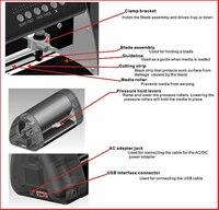 А4 мини-винил и плоттер с контур вырезать функция для винила, не стоить клей этикета, и посетитель, марка, и т. д