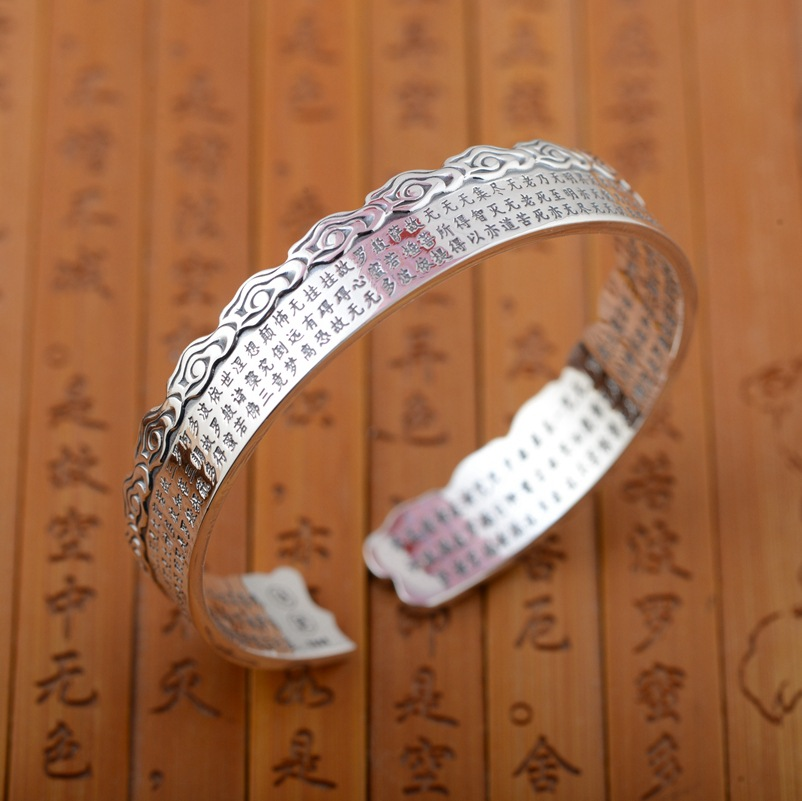 Deer King jewelry fine silver heart bracelet S990 sterling silver jewelry wholesale new air style giftDeer King jewelry fine silver heart bracelet S990 sterling silver jewelry wholesale new air style gift