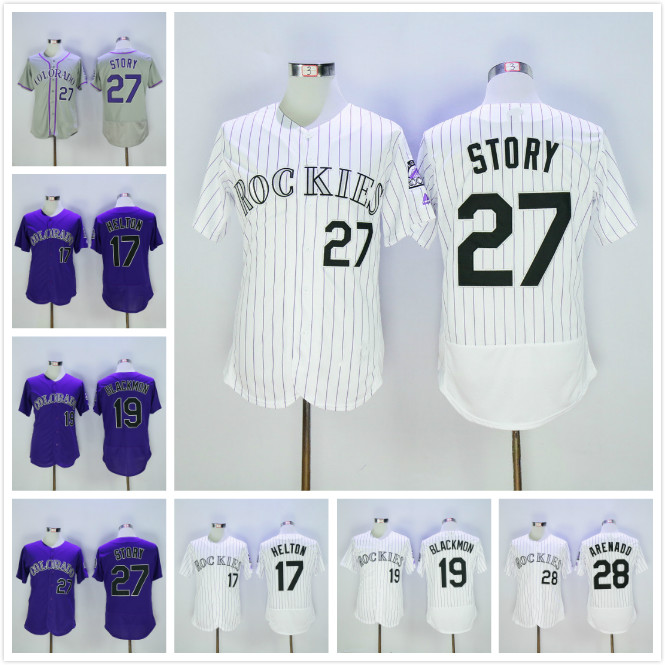 522b83b6ee4 wholesale majestic nolan arenado colorado rockies purple alternate official cool  base player jersey 02c23 7a107  switzerland 17 todd helton 27 trevor story  ...
