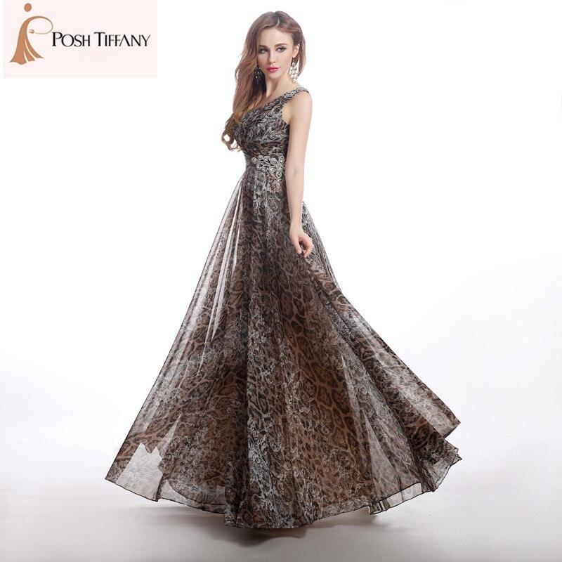 Leopard Plus Size Party Dress Fashion Dresses