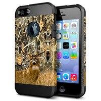 Armor Hybrid Hard Case For Apple Iphone 5 5s Se 6 6s 7 Plus Cool Skull