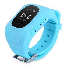 Heißer verkauf! 2016 Smartphone GPS Kinder Kid Armbanduhr Q50 GSM GPS Locator Tracker Anti-verlorene Smartwatch Kind Schutz Für iO