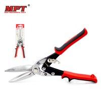 MPT 30CM 13 Tin Sheet Metal Snip Aviation Scissor Iron Plate Cut Shear Household Tool Industrial