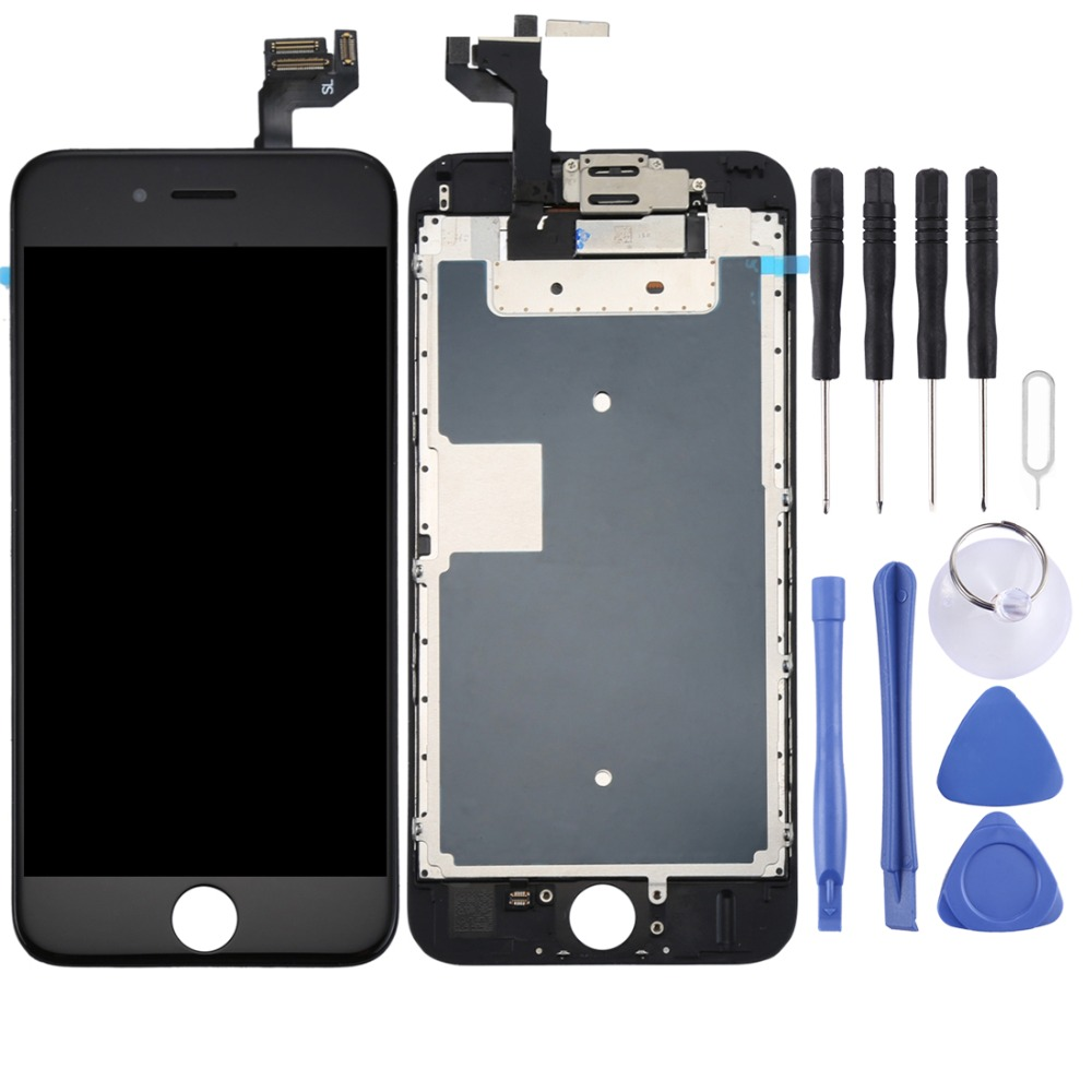 AAA+++ For iPhone 6S LCD Full Assembly Screen and Digitizer Full Assembly with Front Camera for iPhone 6s image