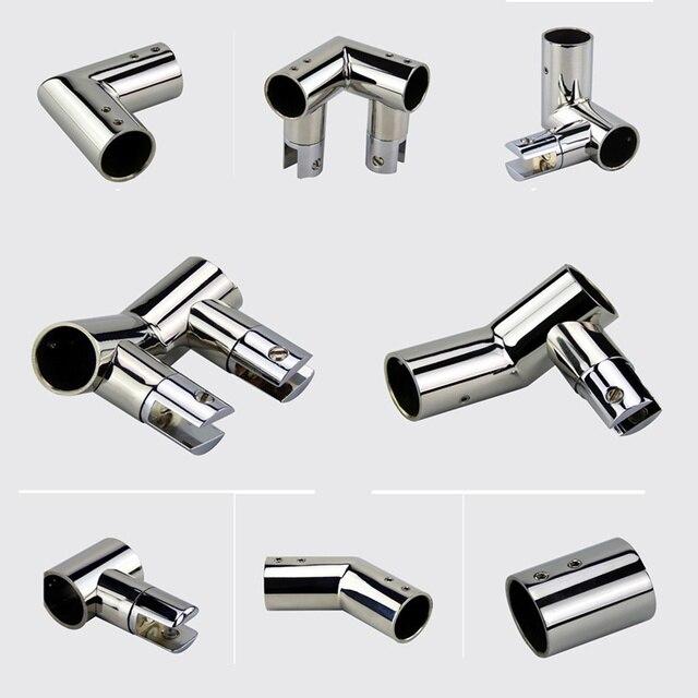 1pcs  Factory direct glass clamp Shower rod accessories Glass door connection code Bathroom door connector