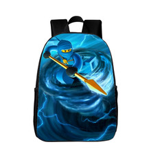 Hot Sale 16-Inches Children School Bags for Kids Printing Cartoon Backpacks  Hero Superman Characters fe84bcde9c80b