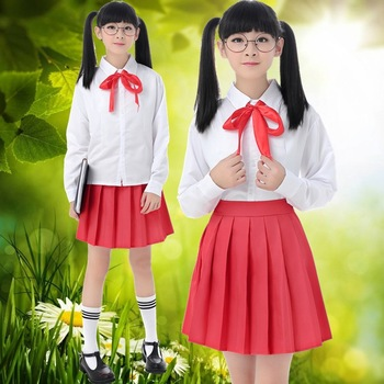 Traje de marinero japonés para chicas de manga larga uniforme escolar JK de verano ropa de la Academia marinera ropa de adolescente D-0299