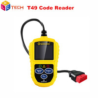 New T49 Code Scanner QUICKLYNKS T49 OBDII & CAN Car Code Reader Scanner Featuring the Unique One Click quick function Key