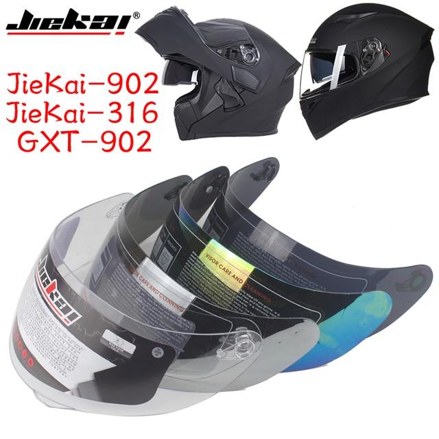 c109d0b6 1 piece face shield for Full face motorcycle helmet visor replacement  glasses Lens for JK-