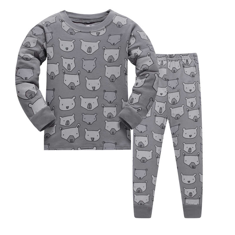 ca6ec7be3c5e Detail Feedback Questions about LUCKYGOOBO Kids Pajama Set Boys Bear ...