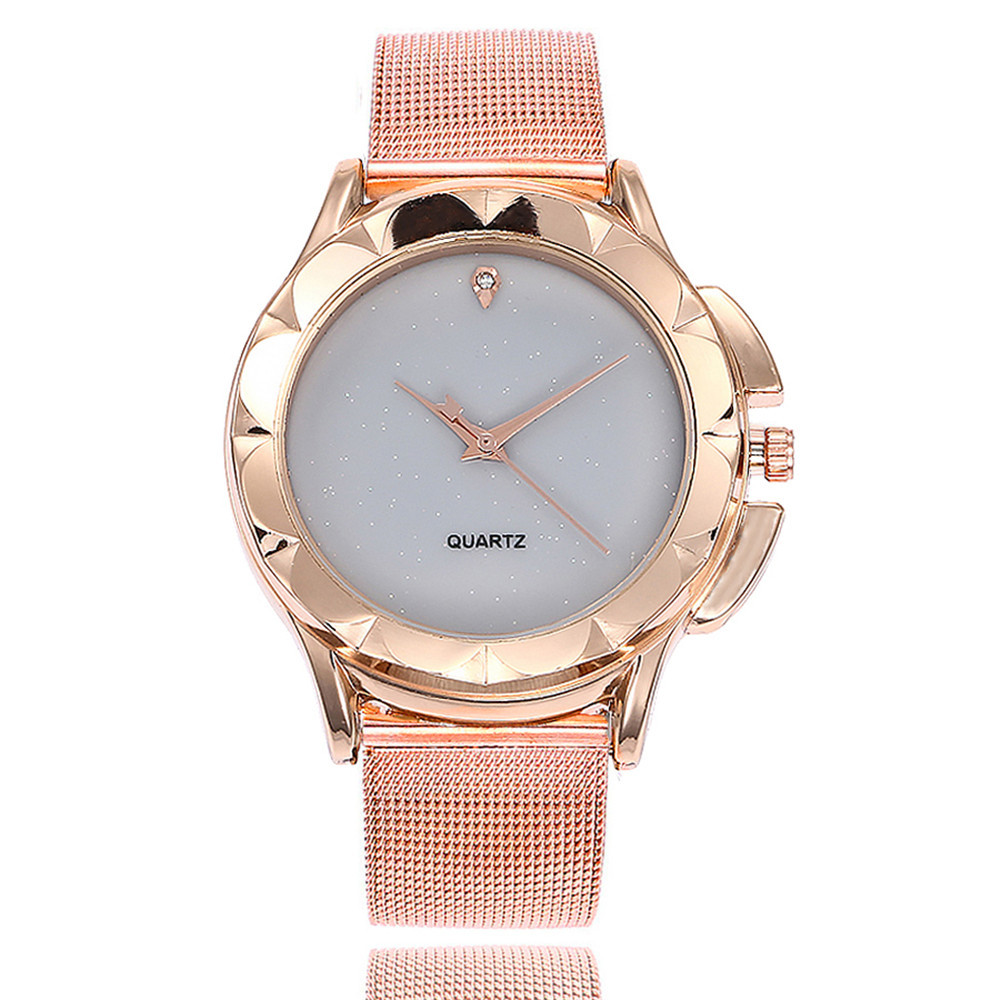 Watch Women Gold Mesh Stainless Steel Watches Women Top Brand Luxury Casual Clock Ladies Wrist Watch Relogio Feminino Gift