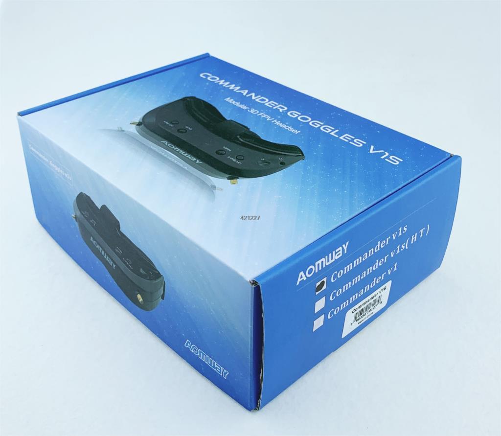 2019 New Aomway Commander Goggles V1S 2D 3D 64CH 5.8G FPV Video Headset Support HDMI 720p DVR Headtracker Instead V1 v2 - 6