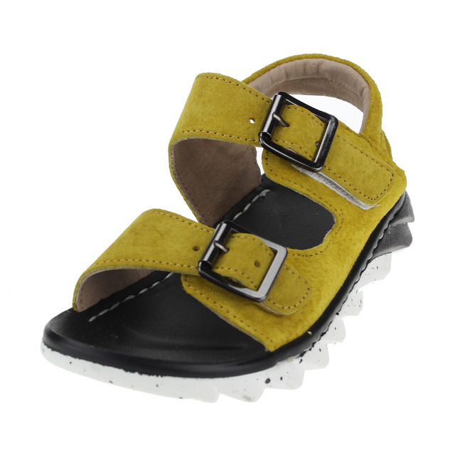 42cd7f72f160 2016 Summer Kids Sandals Children Sandal Shoe Rose Toddler Boys Summer  Green Yellow Gray Khaki Shoes Size EU21-35 Baby Boy Shoes