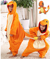 Children Costume Pokemon Charmander Onesies Pajamas Cosplay Costume Jumpsuit Hoodies Sleepwear for Halloween Carnival