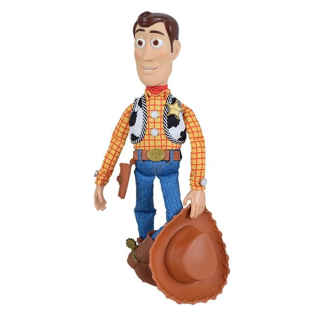 Экшн фигурки Disney Pixar История игрушек 3 4 говорящая Вуди Джесси модель тканевого тела кукла Ограниченная Коллекция игрушки подарки для детей