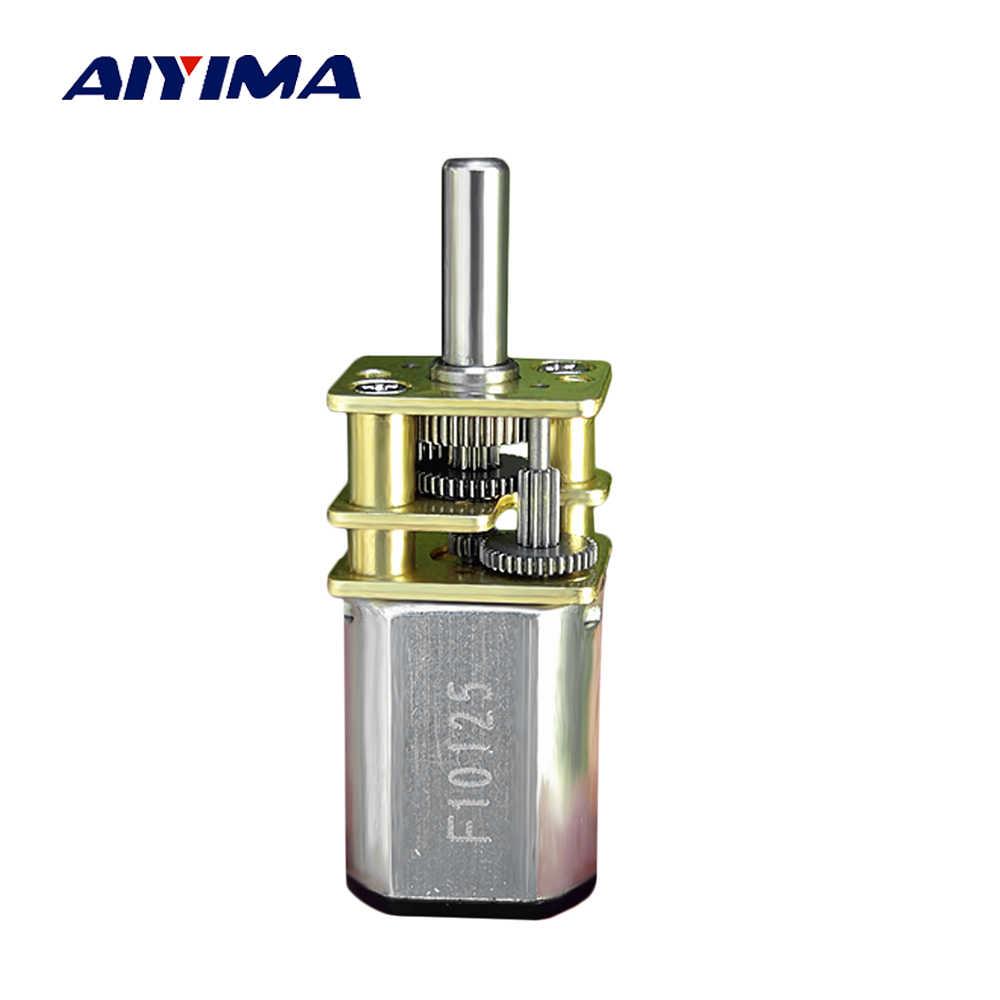AIYIMA точность мотор-редуктор DC3V 145 об/мин используется для Роботы интеллигентая (ый) автомобилями электронные замки моторы