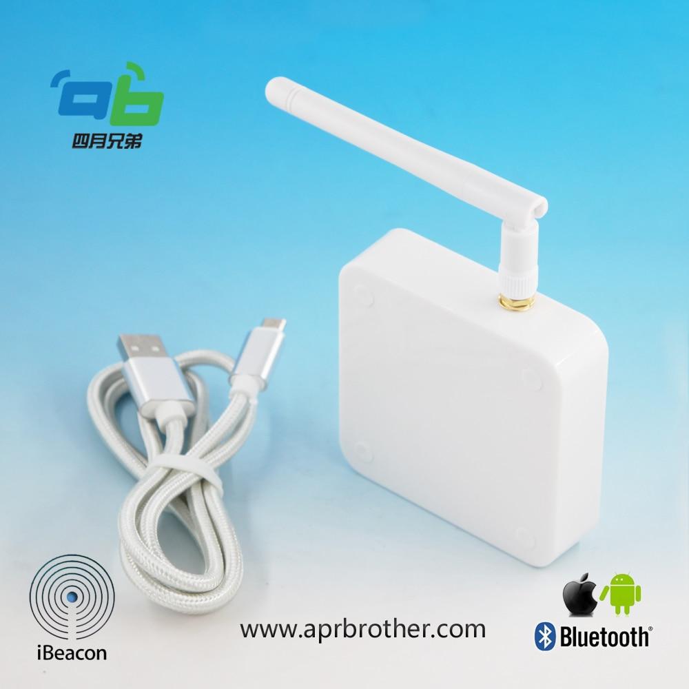 Passerelle 4 BLE d'ab vers la version de réseau de pont de WiFi