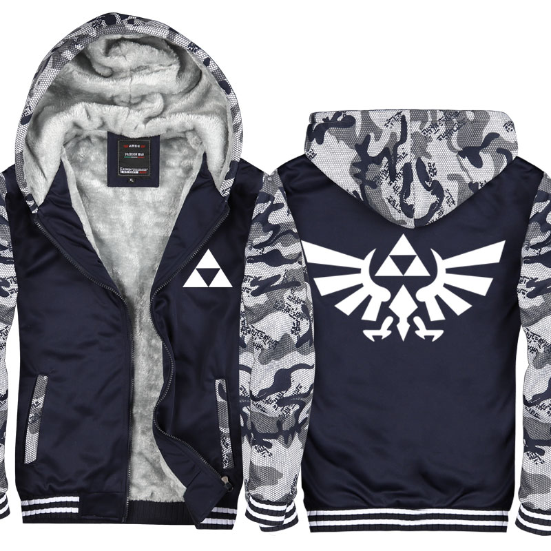 New Arrival Hoodie Jacket the Legend of Zelda Breath of the Wild Hooded Hoodie Casual Cardigan Hoodies & Sweatshirts Coat CM409